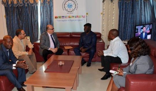 El Presidente de la Cámara de Bioko, Boho Camo, recibe al Embajador de Egipto