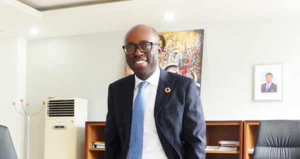 Secretario de Estado, D. César Mba Abogo