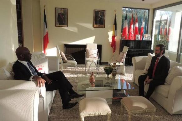 El Embajador de Guinea Ecuatorial en Bruselas recibe a la Federación de Empresarios de Ciudad Real