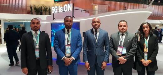 Una delegación del Ministerio de Transportes en la Conferencia Mundial del Móvil 2019