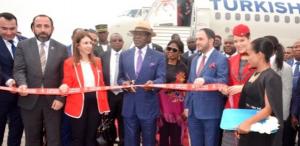 El Presidente apertura los vuelos comerciales desde Estambul a Malabo