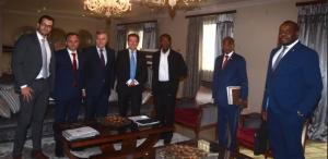 Reunion de Santana Motors con S.E Obiang Nguema Mbasogo