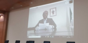 Videoconferencia del director de Gepetrol