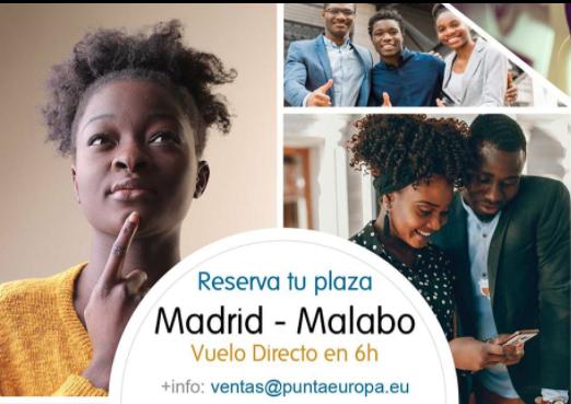 Nace Punta Europa Airlines con trayecto Malabo- Madrid